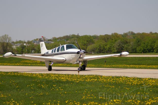 Beechcraft Bonanza (36) (N1538G) - Back from a trip