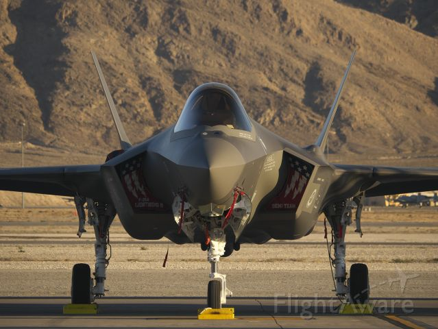 Lockheed F-35C — - F-35 Demo Team at Aviation Nation 2019.