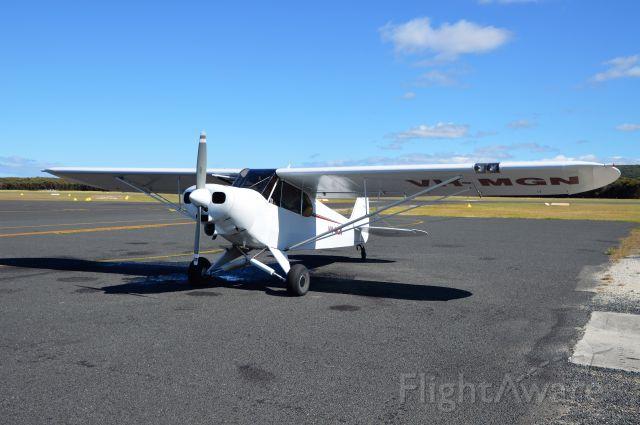 Piper L-21 Super Cub (VH-MGN) - Super cub VH-MGN at Flinders Island, Feb, 2019