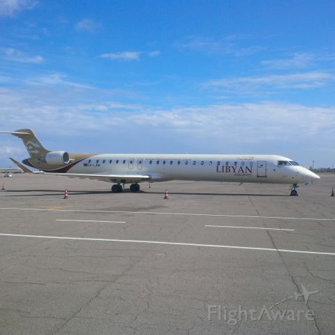 Canadair Regional Jet CRJ-900 (5A-LAM) - LIBYAN AIRLINES<br />ICT DEPARTMENT <br />CNS/ATM UNIT