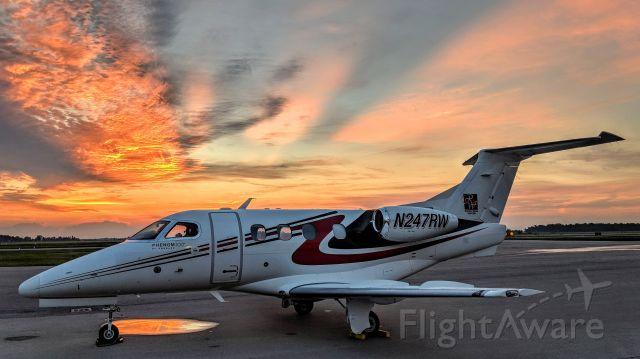 Embraer Phenom 100 (N247RW) - Phenom sunrise - London Ontario Canada