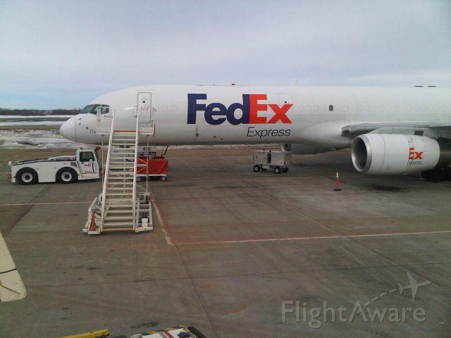 Boeing 757-200 — - B757 at CYEG