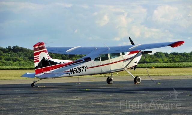 Cessna 336 Skymaster (N60871) - Cessna A185F N60871 in Ann Arbor