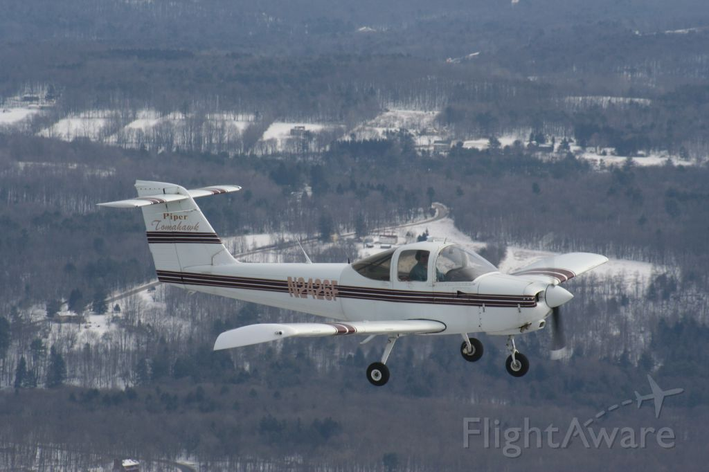 Piper Tomahawk (N2426F) - Just east of Cherry Ridge airport, PA.