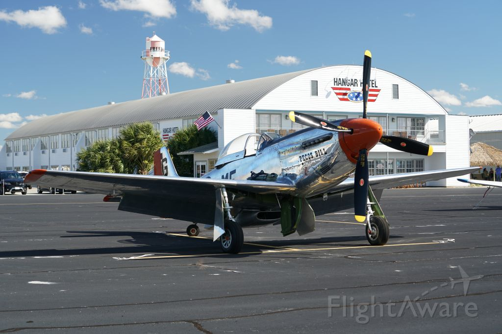 North American P-51 Mustang (NL4132A) - This is a few minuets before Pecos Bills last flight.<br />Crashed hard and two killed on Saturday November 17, 2018 in Fredericksburg Texas.<br />RIP