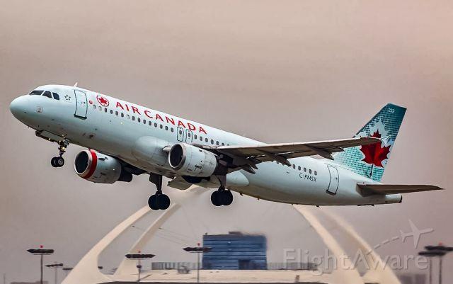 Airbus A320 (C-FMSX)