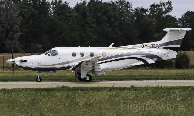 Pilatus PC-12 (OM-TVV)