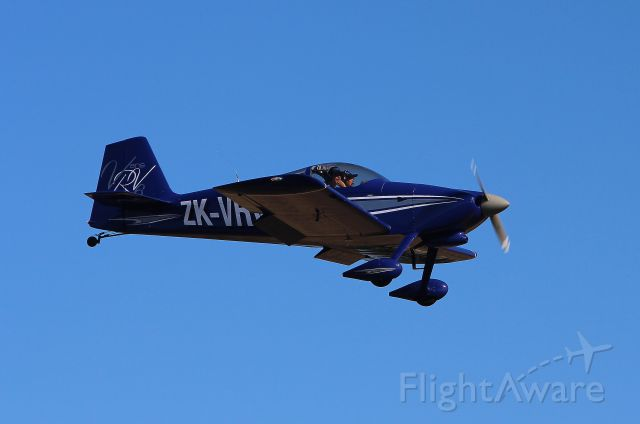 AII AVA-202 (ZK-VRV) - On finals at Bridge Pa, Hastings NZ, During Air Safari, 27th March 2013