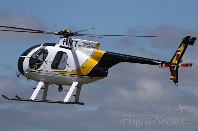 MD Helicopters MD 500 (ZK-HVT) - 15 NOV 2016.<br />Assisting with the relief effort after the 7.5 earthquake isolated the town of Kaikoura