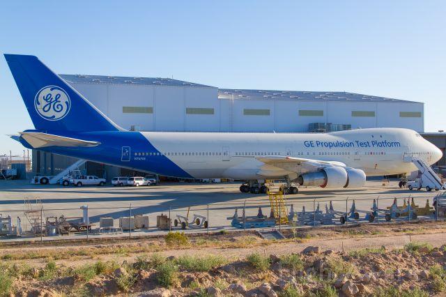 Boeing 747-200 (N747GE) - GE Engine Test; 30.04.2017