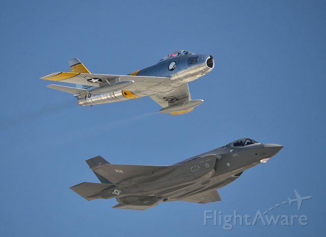 — — - Heritage Flight at Aviation Nation 2019.