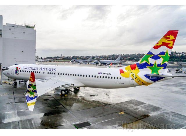 Boeing 737 MAX 8 (VP-CIW)