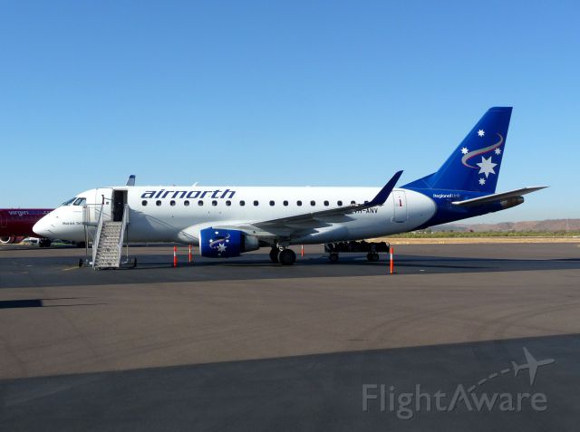 Embraer 170/175 (VH-ANV) - On the ground Mount Isa