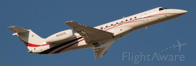 Embraer ERJ-135 (N1023C) - Conoco Phillips biz jet lifts off to it's next destination.