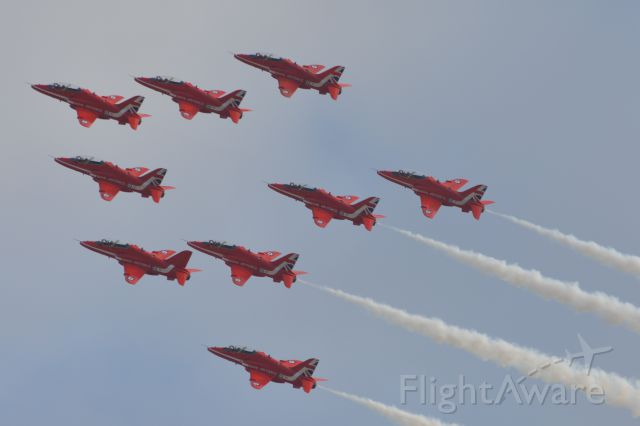 Boeing Goshawk (MULTIPLE) - The Red Arrows at Duxford Airshow 20 Sep 2015
