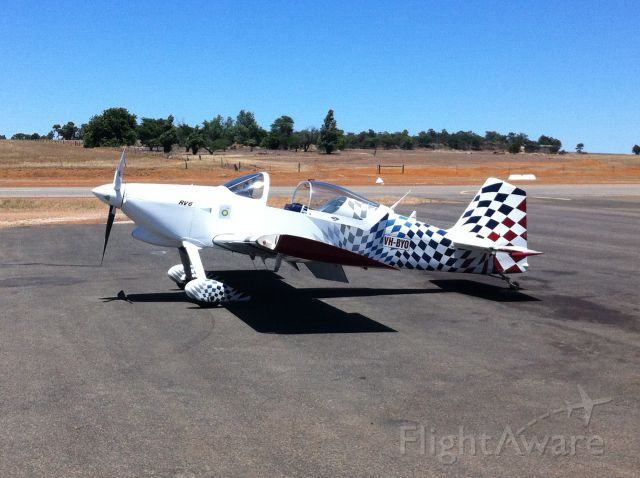 AII AVA-202 (VH-BYO) - At Narrogin Airfield, Western Australia.