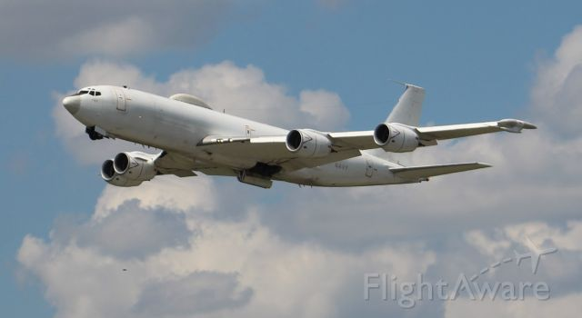 USN — - A Boeing E-6B Mercury after departing Runway 18R during a series of touch and gos at Carl T. Jones Field, Huntsville International Airport, AL - September 26, 2017.