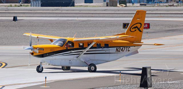 Quest Kodiak (N247TC) - Exiting Runway 16L at Juliet.