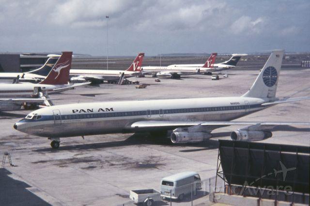 Boeing 707-300 (N495PA) - Sydney c 1971