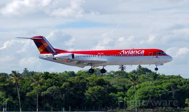 Fokker 100 (PR-OAD)