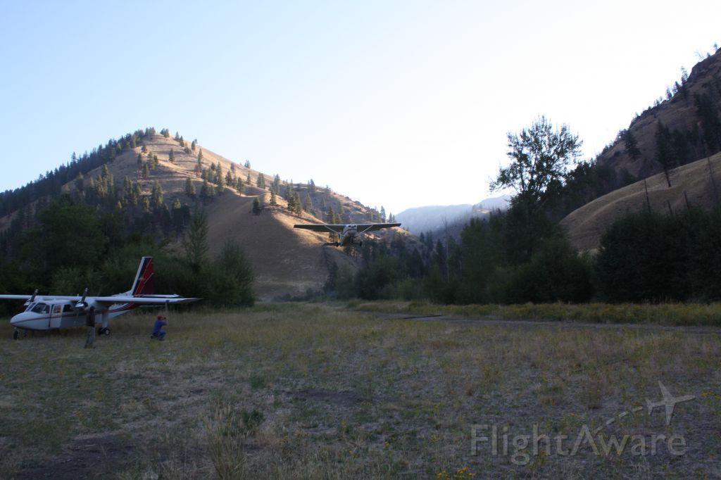 — — - Cabin Creek Idaho