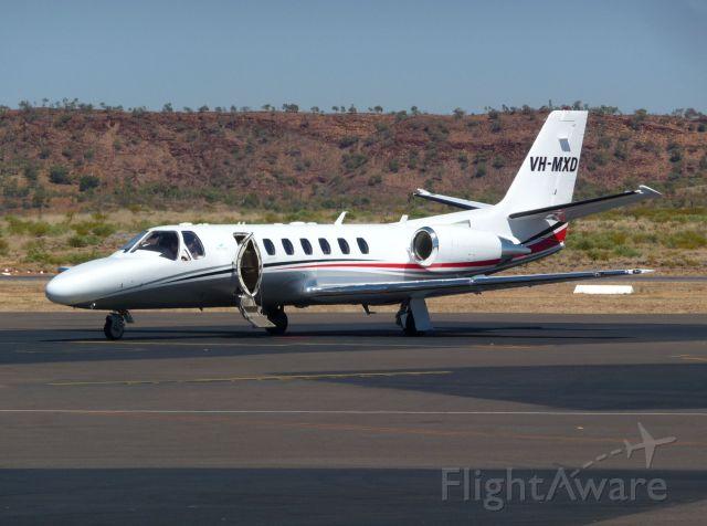 Cessna Citation V (VH-MXD) - On the ground Mount Isa