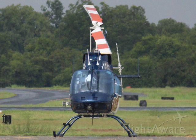 Bell JetRanger (N424AE) - At Downtown Shreveport.
