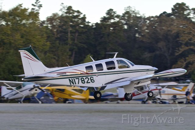 Beechcraft Bonanza (36) (N17826)