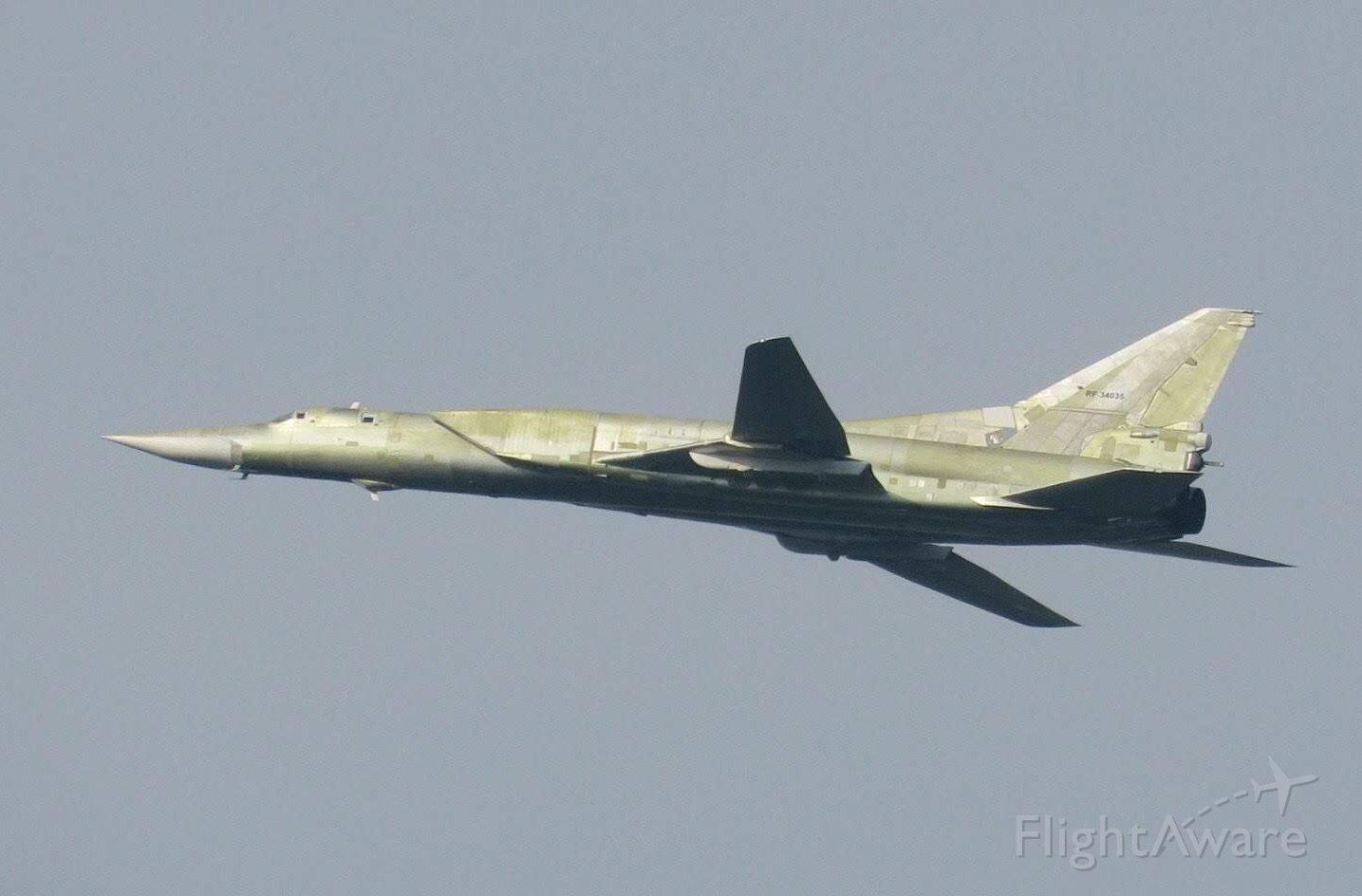 Tupolev Tu-22 (RF-34035)
