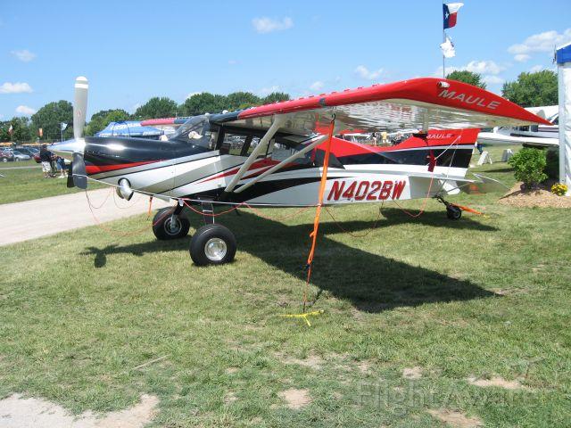 MAULE MT-7-260 Super Rocket (N402BW) - Beautiful turboprop Maule.  I want one.
