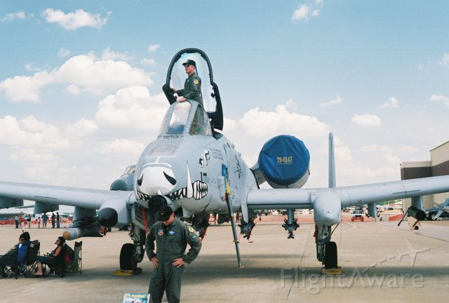 Fairchild-Republic Thunderbolt 2 (79-0147) - A-10A Thunderbolt II, Ser. 79-0147, from 917th FW, 47th FS, Barksdale AFB, on display at Barksdale 2005 airshow.