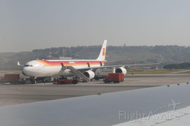 Airbus A340-500 (EC-JLE) - SANTIAGO RAMON Y CAJAL
