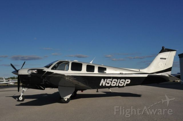 Beechcraft Bonanza (36) (N561SP) - BlackBird