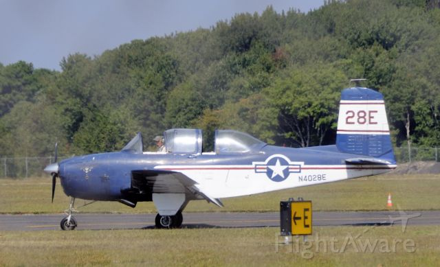 N4028E — - 1956 Beech D-45 C/N BG-292  Owner: United States Navy    Address: Joint Reserve Base  Willow Grove, PA 19090  United States    Photo Location   Cape May County Airport  KWWD  Landing Runway 28