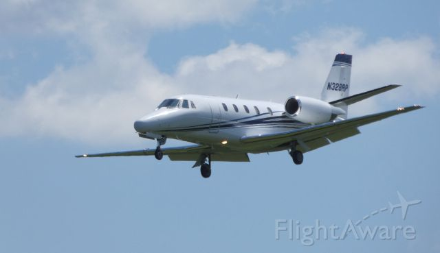Cessna Citation Excel/XLS (N328RP) - On final is this Cessna Citation Excel in the Summer of 2019.