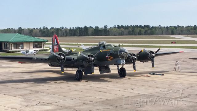 Boeing B-17 Flying Fortress — - B17 Texas Raiders at her new home.