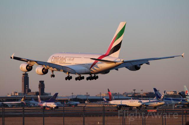 Airbus A380-800 (A6-EOE)
