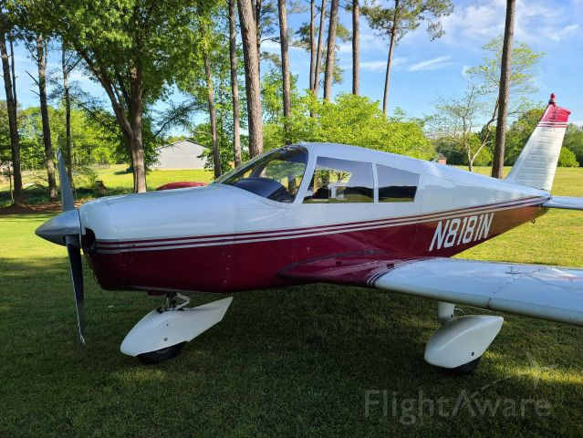 Piper Cherokee (N8181N) - In our family for 20 years.<br />Lots of fun flights.