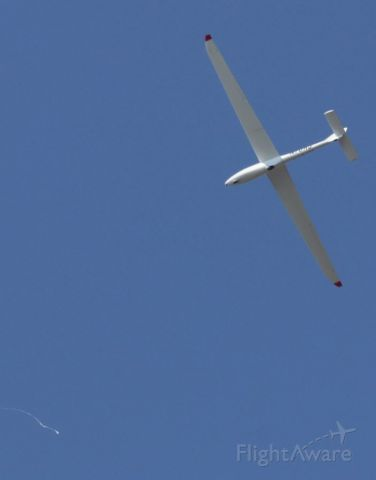N76AJ — - MISSISSIPPI STATE UNIVERSITY SOARING CLUB's 2001 PZL-SWIDNIK PW-6U N76AJ at moment of release from tow plane over George M. Bryan Airport Starkville MS. 5 Oct 2019.