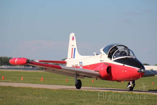 HUNTING PERCIVAL P-84 Jet Provost (N287XW) - Air show at Osh 2018