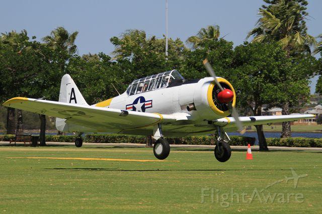 North American T-6 Texan (VH-WWA) - LANGLEY PARK - PERTH CITY