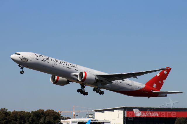 Boeing 777-200 (VH-VPD)