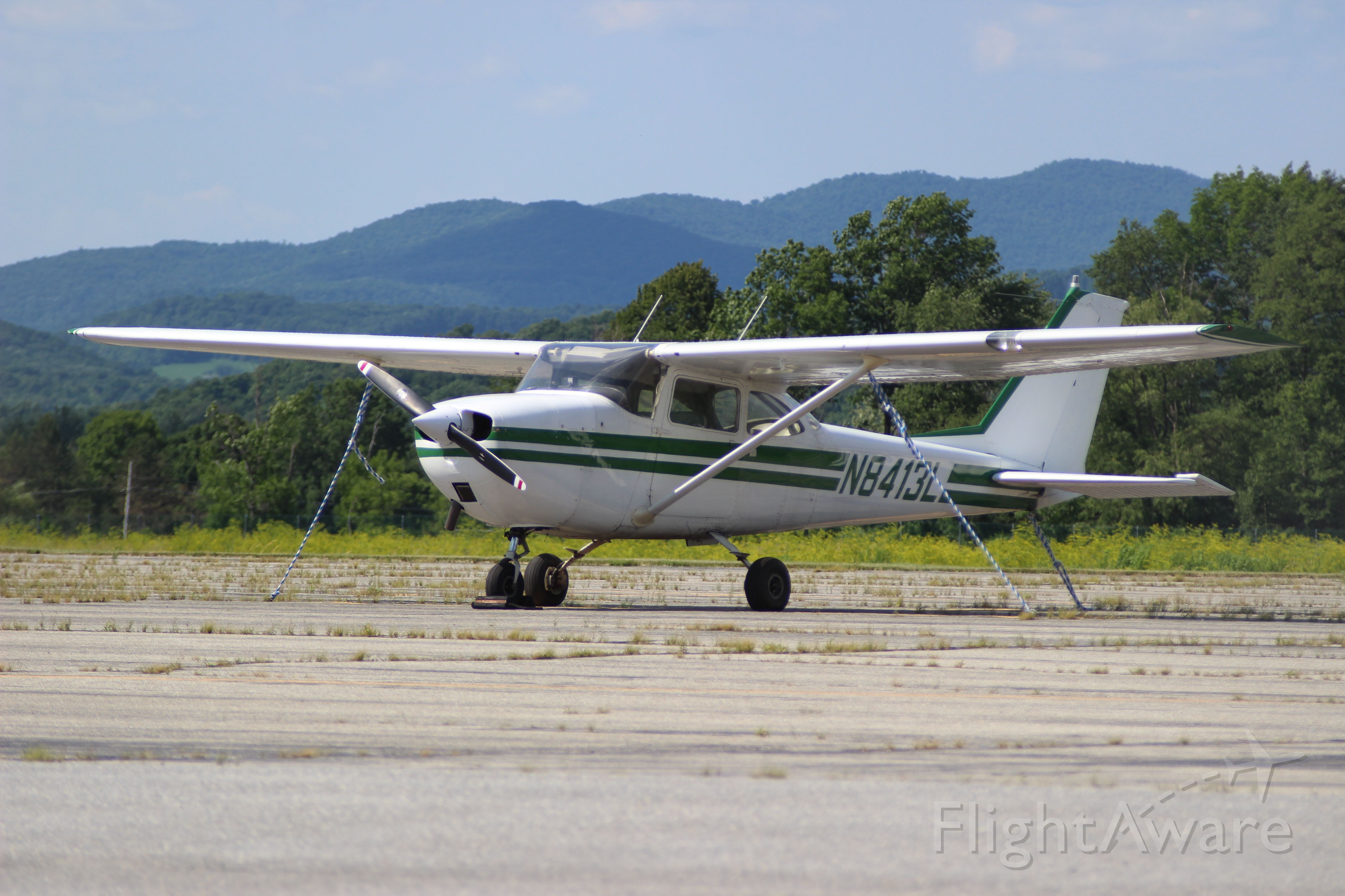 Cessna 170 (N8413L) - Photo taken by Christopher Wright at William H. Morse State Airport (Bennington, VT) KDDH