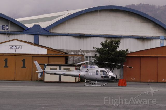 Eurocopter AS-350 AStar (I-GBVD) - Star Work Sky Eurocopter AS-350B-3 Ecureuil I-GBVD in Genova