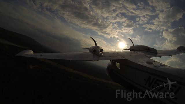 Grumman G-44 Widgeon (N575L) - Flying back in to Fairbanks for the night
