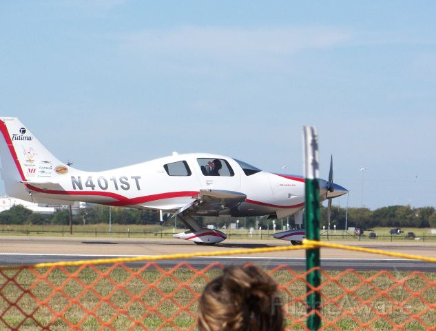 Lancair Columbia 400 (N401ST) - Cessna 400 flown by Eric Tucker, son of Shaun D. Tucker to demonstrate unusual attidues in GA aircraft at the 2007 Alliance Air Show