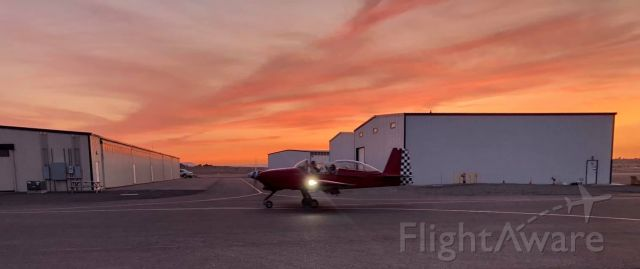Vans RV-8 (N28PN) - Another beautiful sunset shot