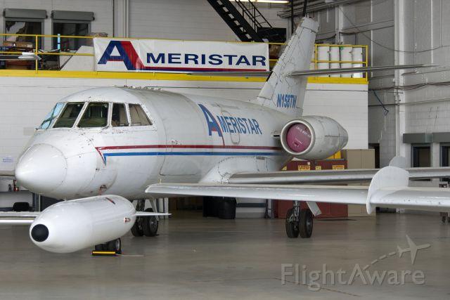 Dassault Falcon 20 (N158TW) - N158TW  1968 Dassault-SUD Fan Jet Falcon  AJI  KYIP  20130510