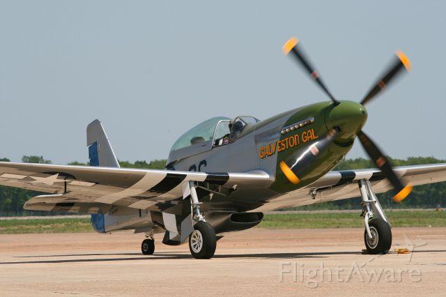 North American P-51 Mustang (N4151D)