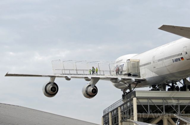 Boeing 747-200 (D-ABYM) - Technic Museum Speyer